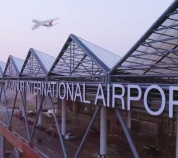 Kannur gets wings, first flight to Abudhabi took off