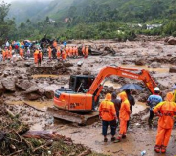 Kerala rains: toll in landslips rises to 24, one person still missing