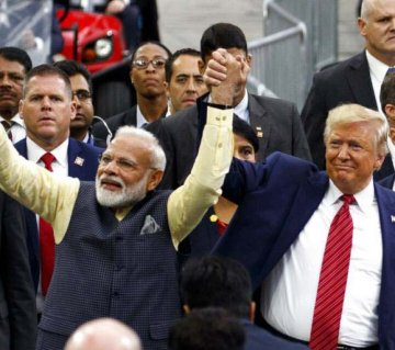 Cong accuses PM of campaigning for Trump, says it violates 'time honoured principle'