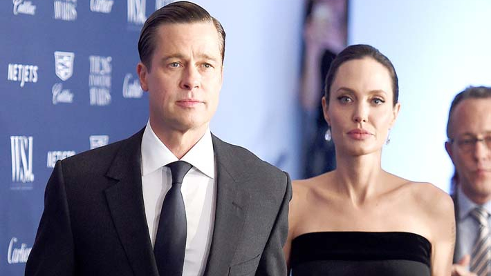 Angelina Jolie and Brad Pitt reach temporary child custody agreement