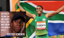 'Proud' Semenya back on track after IAAF rule change