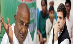 Rahul never disrespected Gowda, says Congress after Modi's attack