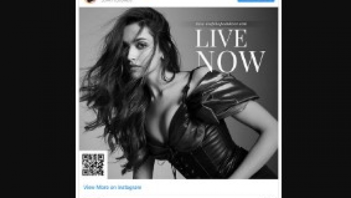 Deepika Padukone launches official website on 33rd birthday
