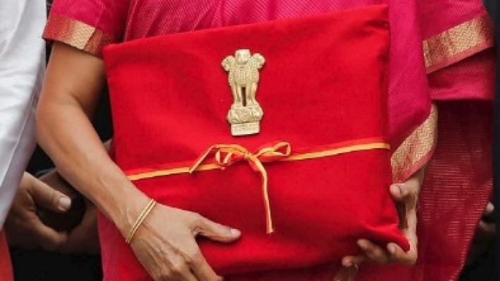 Nirmala Sitharaman discards briefcase, carries 'bahi-khata' for budget