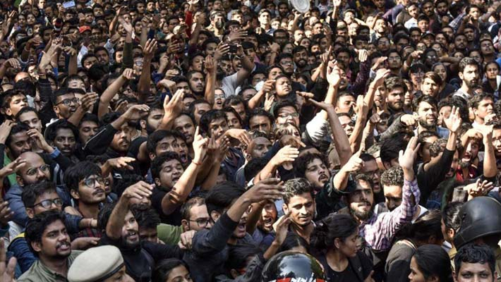 JNU students decide to boycott exams