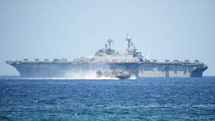 China criticizes US joint carrier drills in South China Sea