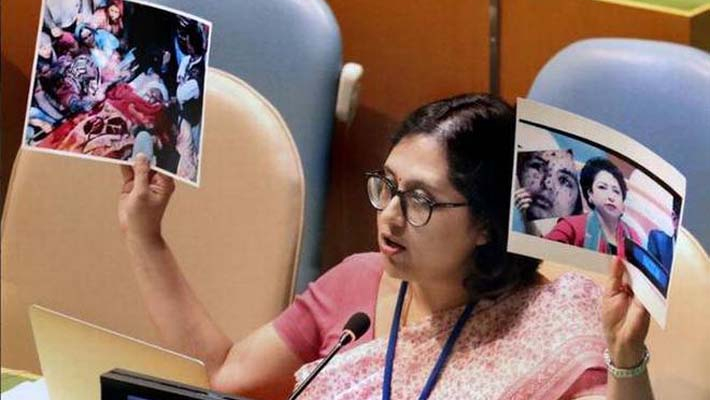 Pakistan exporting terror, stifling women's voices for narrow political gains: India at UN Security Council