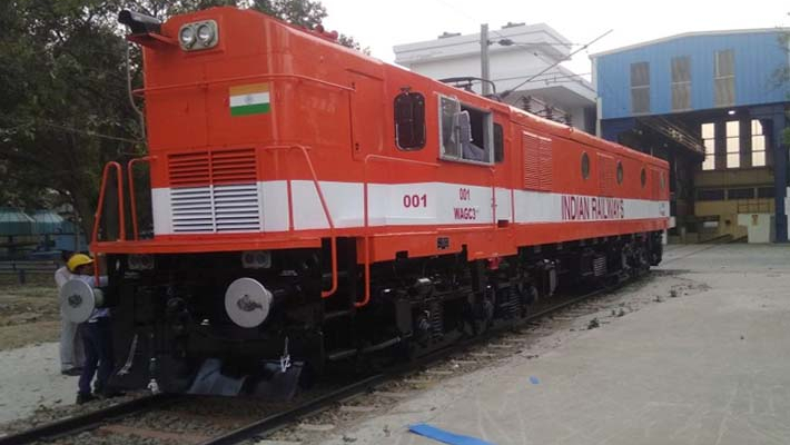 In a first, railways convert diesel locomotive into electric