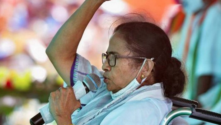 'BJP's CRPF' harassing people,preventing voters enter booths on Shah's order, alleges Mamata