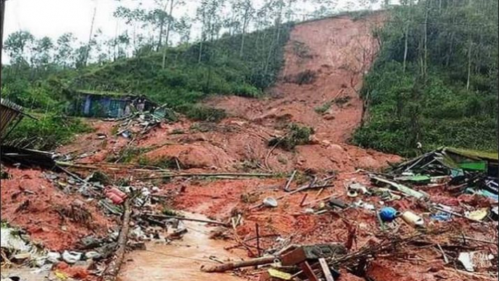 15 killed in landslide; Over 50 missing as monsoon rains pound Kerala