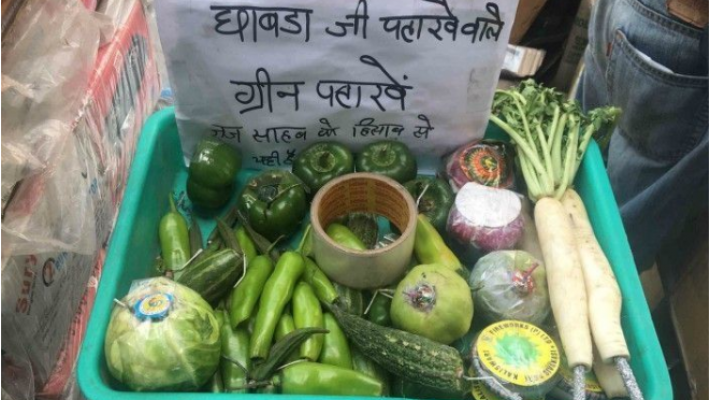 Traders sell vegetables stuffed with crackers to protest against 'green crackers only' verdict