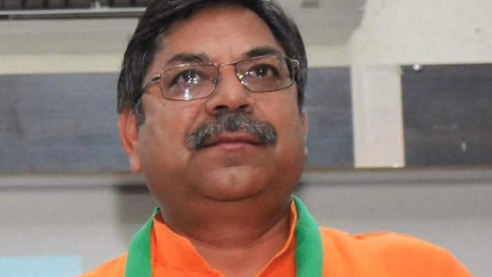 Rajasthan's new BJP chief takes charge, Vasundhara absent