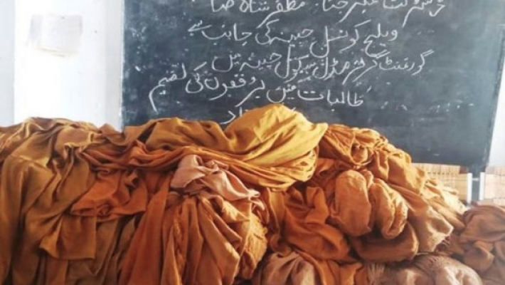 Social media fumes as official buys burqas for school girls