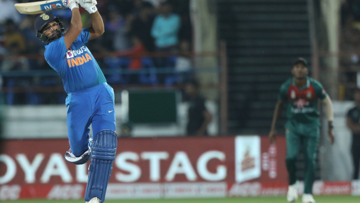Rohit guides India to T20 series-equalling 8-wicket victory against Bangladesh