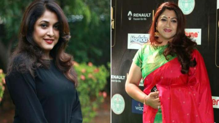 Will it be Khushbu or Remya Krishnan in Revathi's role in Kannada remake of Pa Paandi?