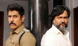 Bobby Simha sports three different looks in Saamy Square