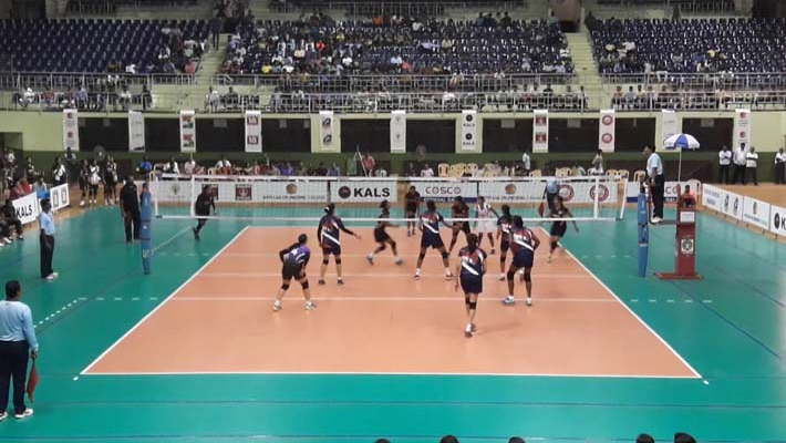 National volleyball: Kerala to meet Railways in women's final