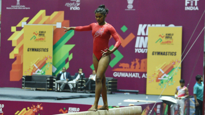Gymnasts Priyanka, Jatin win Khelo India's first gold medals
