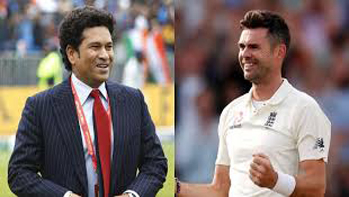 Anderson first bowler who could bowl 'reverse' reverse swing: Tendulkar