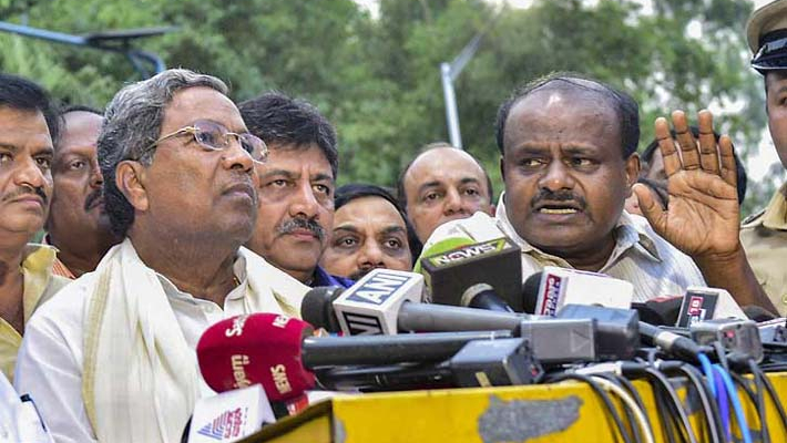 Karnataka horse trading issue echoes in LS; Union minister Gowda refutes allegations
