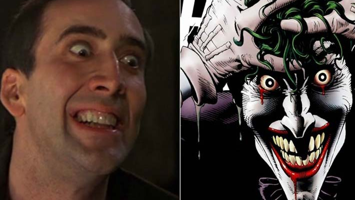 Nicholas Cage wants to play Joker