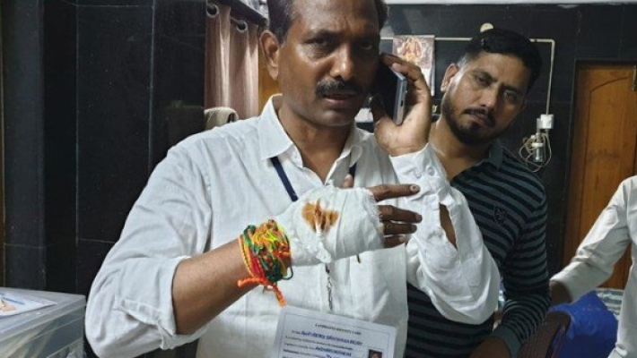 Violence, reports of EVM glitches and missing names mar round one of Election 2019