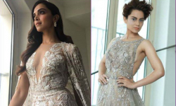 Kangana, Deepika shine at the Cannes red carpet