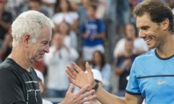 Nadal breaks McEnroe record with 50th consecutive set win
