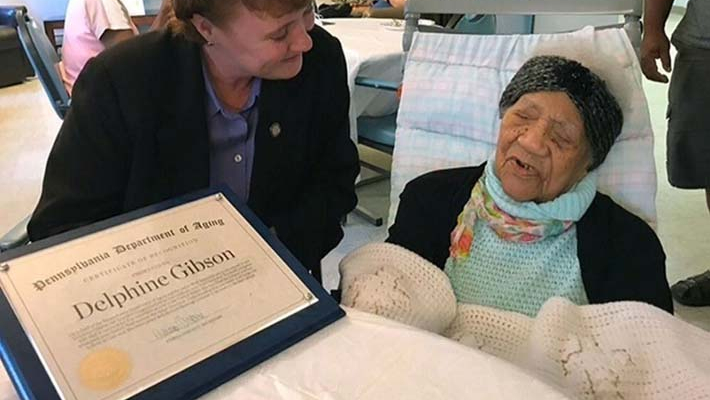Oldest person in US dies; Pennsylvania woman was 114