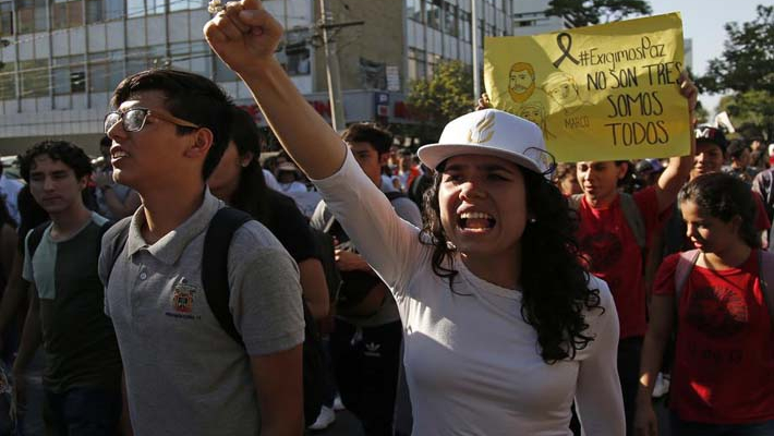 Killers of Mexican students dissolved 12 victims in acid
