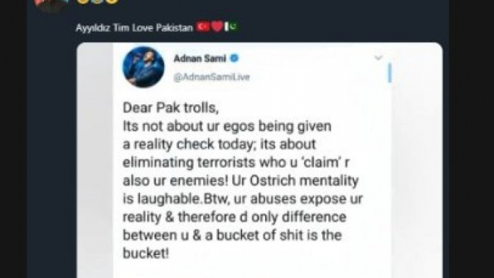 Adnan Sami's Twitter account hacked, profile picture changed to Pak PM's