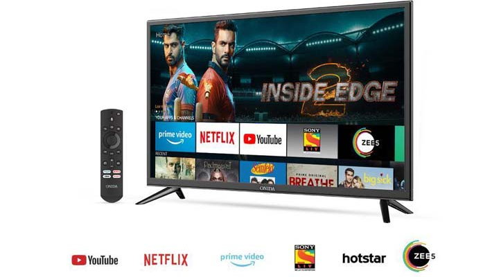 Amazon brings Fire TV edition smart TVs to India, partners Onida