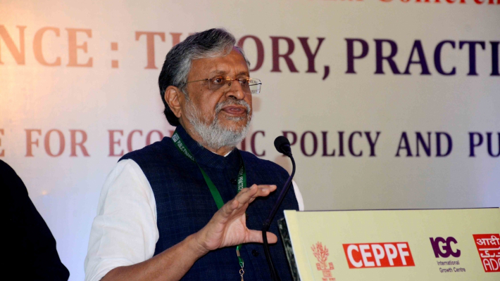 Sitharaman opts out of GoM on IGST, Sushil Modi made chairman