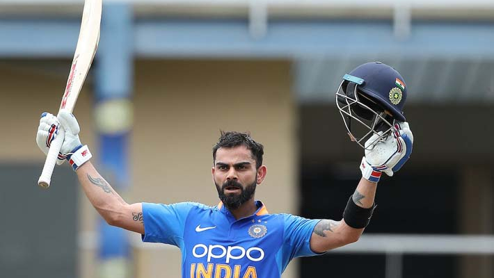 Kohli eclipses Ganguly to become second highest run-getter for India in ODIs