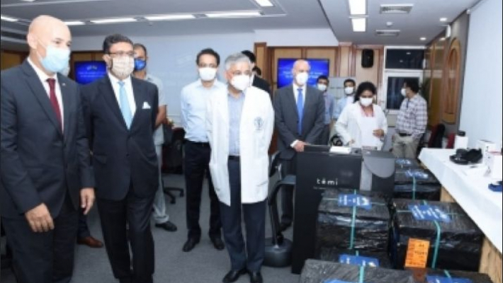 Israel shares AI based COVID care technologies and equipment with AIIMS