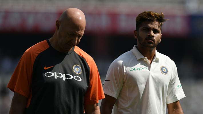 Debutant Shardul Thakur hobbles out after sustaining groin strain