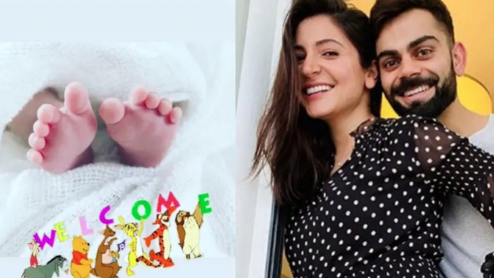 Anushka and Virat appeal to paparazzi to not click their daughter's picture