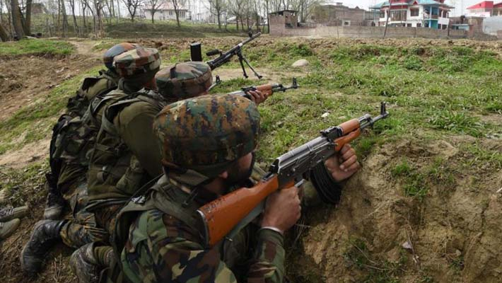 Encounter between security forces and terrorists underway in Shopian