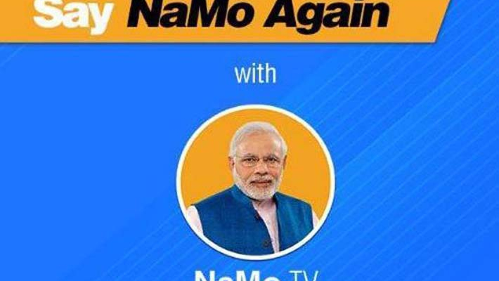 Delhi CEO directs BJP to not air content on NaMo TV without certification