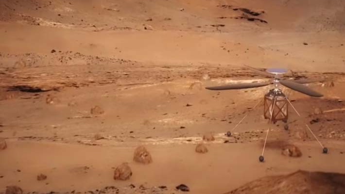 NASA to send helicopter to Mars in 2020
