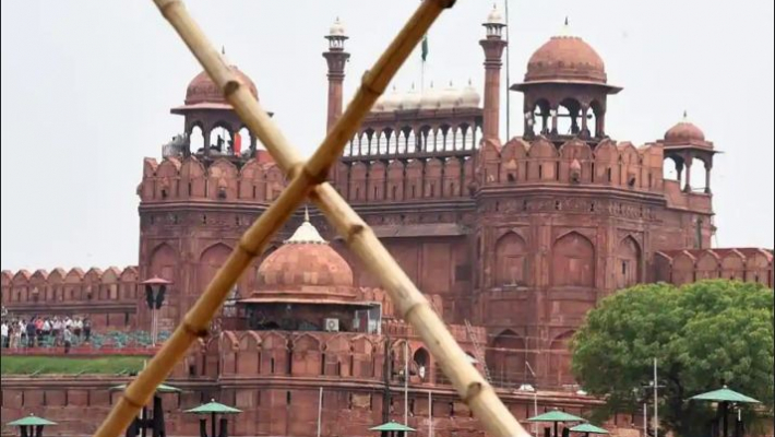 Multilayered security arrangements, social distancing in place for I-Day