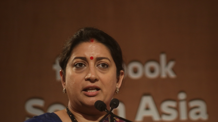 Smriti lashes out at Rahul for 'Rape in India' remark