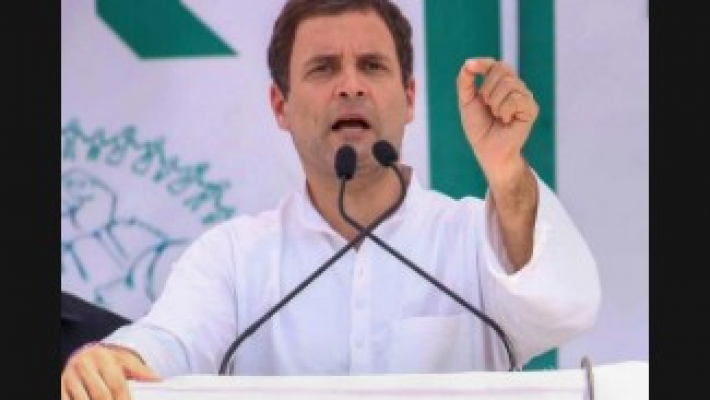 Rahul launches poll campaign in Kerala, slams CPI-M, BJP-RSS