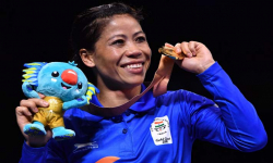 Mary Kom, Gaurav Solanki claim gold on CWG debut