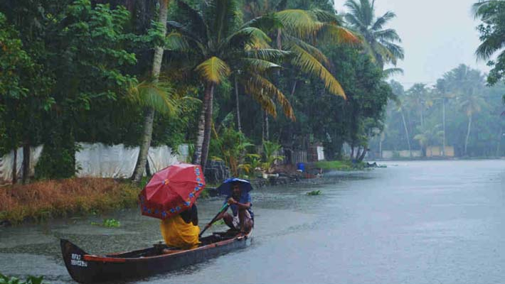 Rains, thunderstorm forecast in Kerala