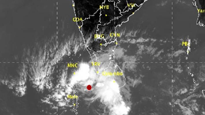 Depression over Arabian Sea, heavy rain likely in Tamil Nadu, Kerala
