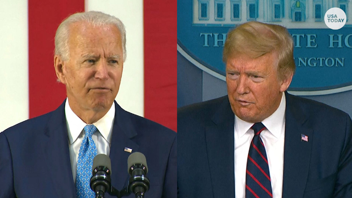 US will collapse if Biden is elected president, says Trump