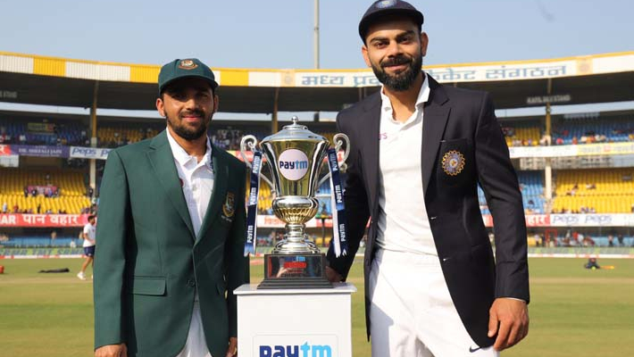Bangladesh win the toss, opt to bat against India in first Test