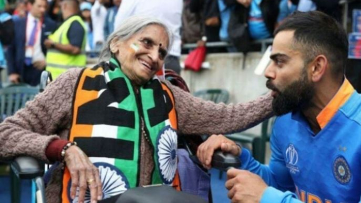 Team India's superfan Charulata passes away, Tweeple condole