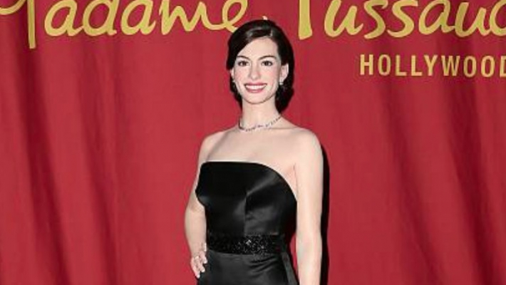 Hathaway's wax statue to get name change after actor says she doesn't like being called 'Anne'